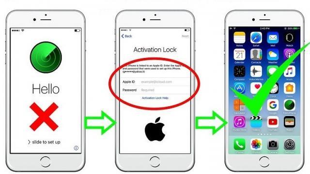 Mở icloud Iphone Long Xuyên